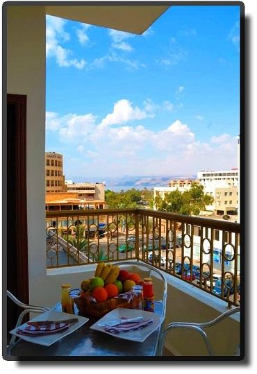 Al Qidra Hotel - Вид на город
