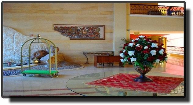 Отель Dead Sea Spa - Лобби