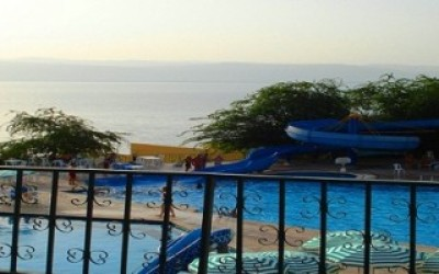 Dead Sea Spa - Вид на море