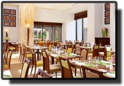 Курортный отель Holiday Inn Мертвое море-ресторан