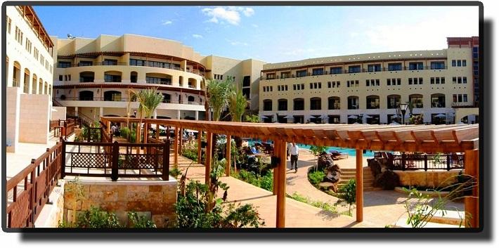 Мертвое море - курорт Jordan Valley Marriott