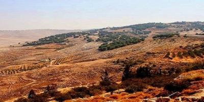 Иорданская долина - вид с горы Небо
