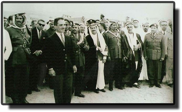 Молодой король Хусейн.