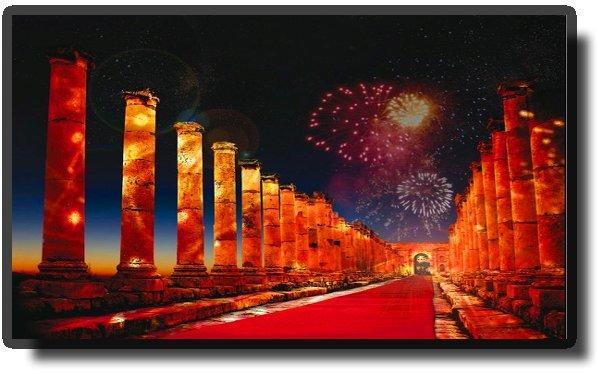 Джераш - фестиваль культуры и искусства
