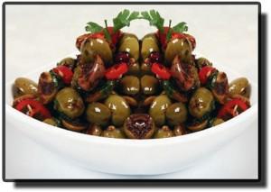 Оливковое Салат