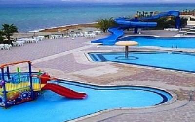 Dead Sea Spa - вид на бассейн