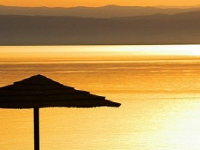 Отель Dead Sea Spa - закат