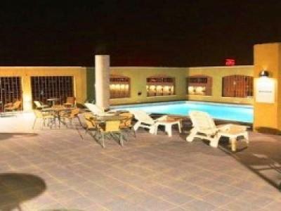 My Hotel - терраса