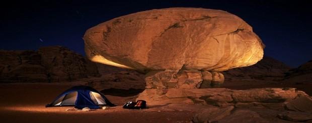 Вади-Рам в ночное время