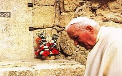 Римский папа Иоанн Павел II / Гора Небо, март 2000 г.